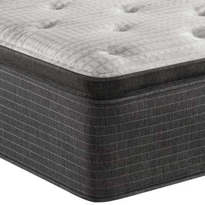 BRS900-C 16.5 in. Plush Pillow Top Mattress with 6 in. Box Spring
