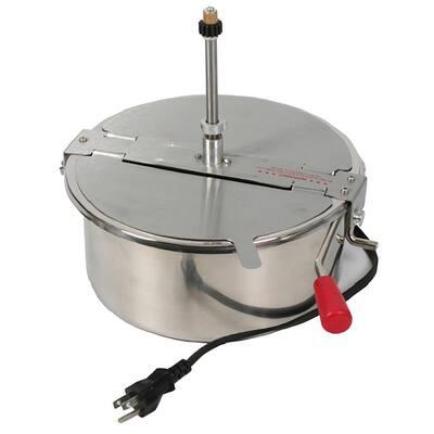 16 oz. Replacement Steel Popcorn Kettle for 16 oz. Great Northern Poprcorn Machine