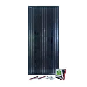 180-Watt Monocrystalline Solar Panel with Charge Controller
