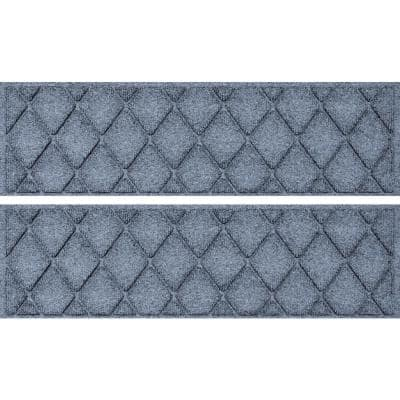 Argyle 8.5 in. x 30 in Stair Treads (Set of 4) Bluestone