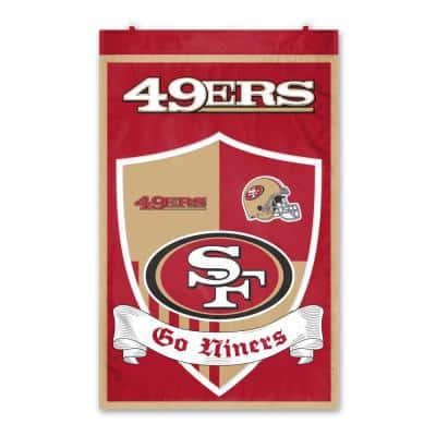 San Francisco 49ers Wall Shield Tapestry