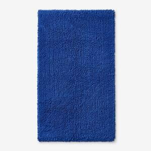 Company Cotton Chunky Loop Royal Blue 24 in. x 40 in. Bath Rug