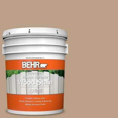 5 gal. #N240-4 Sierra Solid Color House and Fence Exterior Wood Stain