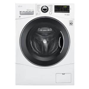 2.3 cu. ft. High Efficiency Compact Front Load Washing Machine in White with TrueBalance Technology, ENERGY STAR