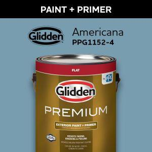 Exterior Paint Glidden Premium Paint The Home Depot