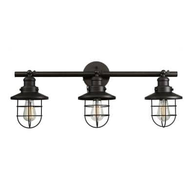 Beaufort 3-Light Oil Rubbed Bronze Sconce
