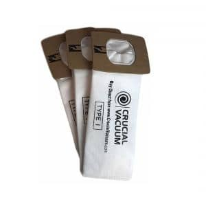 6-Pack Replacement ''Q'' and 6-Hoover ''I'' Vacuum Bag Fits Hoover Compatible with Part AH10000 and AH10005