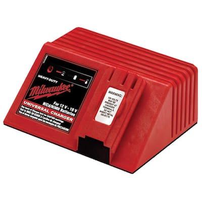 Multi-Voltage Universal 12-Volt, 14.4-Volt and 18-Volt NiCd 1 Hour Battery Charger