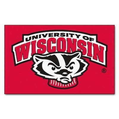 University of Wisconsin 5 ft. x 8 ft. Ulti-Mat