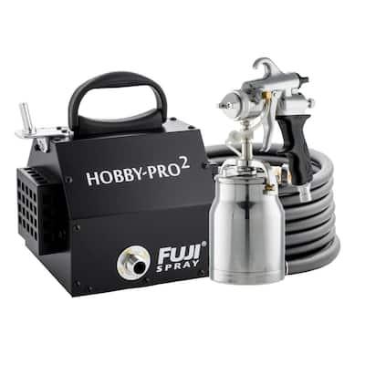 Hobby-PRO 2 - M-Model HVLP Paint Sprayer Gun, Bottom Feed 1 qt. Cup & 1.8 mm Air Cap Set HVLP Paint Sprayer System