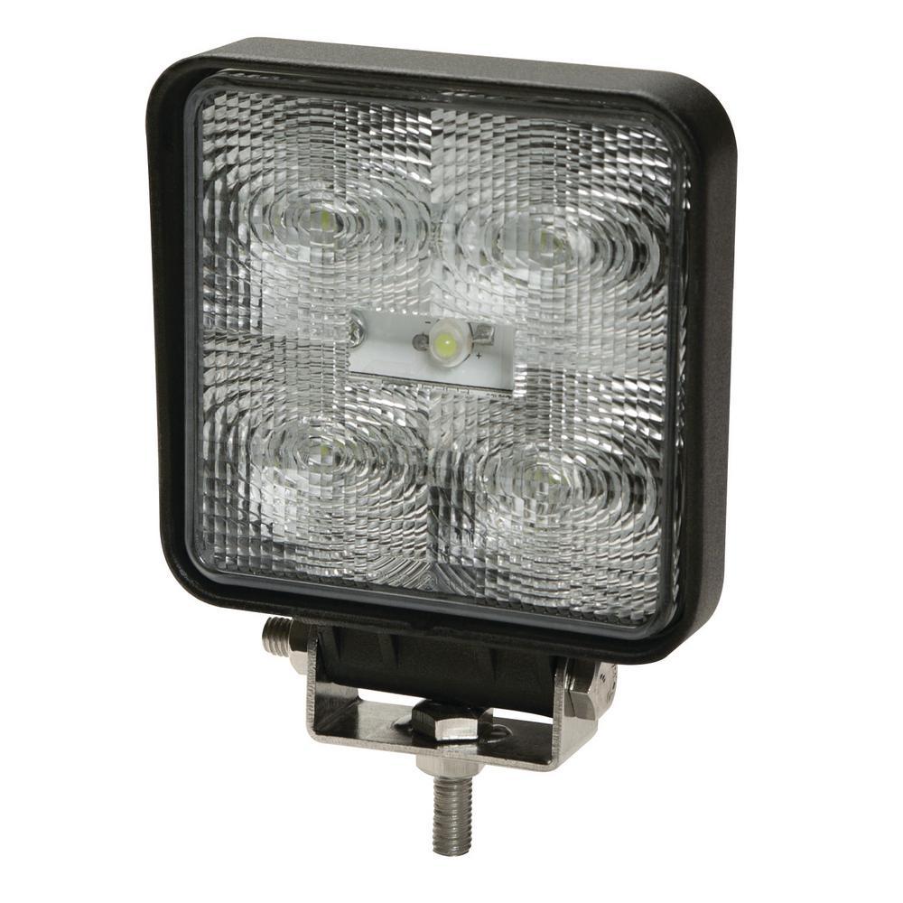 4 in. Square 9 LED Flood Worklight