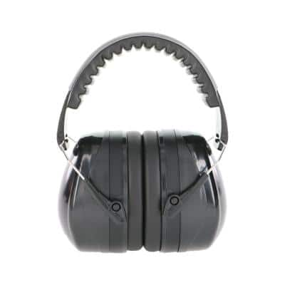 Black Folding Ear Muff NRR 26