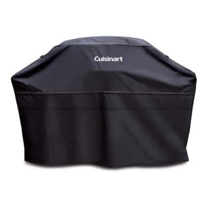 70 in. Black Rectangle Grill Cover