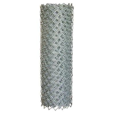 60 in. x 50 ft. 11.5-Gauge Galvanized Steel Chain Link Fabric