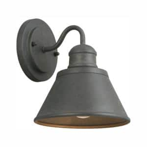 1-Light Zinc Outdoor Wall Barn Light Sconce Lantern
