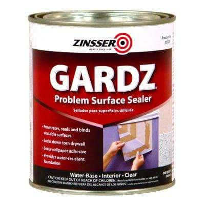 GARDZ 1 qt. Clear Water-Based Interior Problem Surface Sealer (6-Pack)