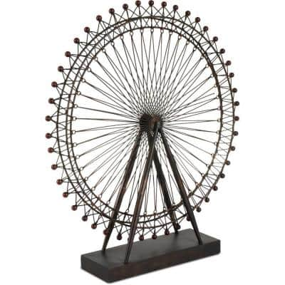 London Eye Abstract Metal Decorative Object