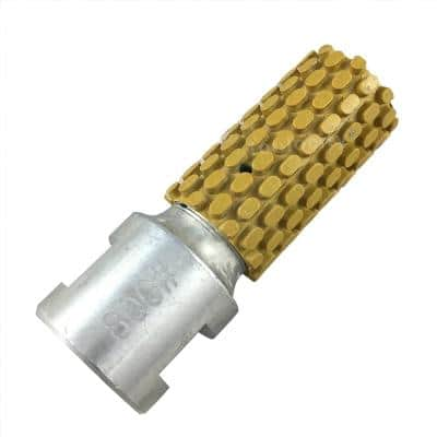 1 in. Wet Diamond Polishing Drum Wheel 800-Grit 5/8-11 Thread