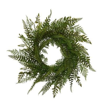 26 in. Dia Fern Wreath