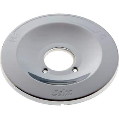 1-Handle Tub and Shower Faucet Escutcheon for 600 Series in Chrome