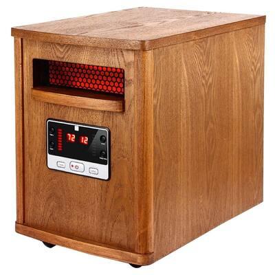 1000-Watt to 1500-Watt Quartz Infrared Heater With Remote