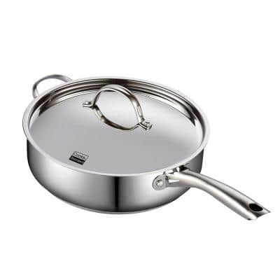 Classic 5 qt. Stainless Steel Saute Pan with Lid