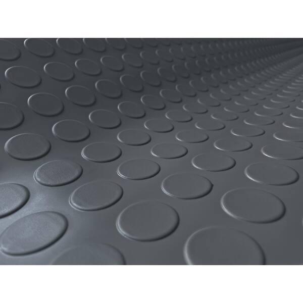G Floor Coin 5 Ft X 10 Slate Grey, Vinyl Garage Flooring Rolls