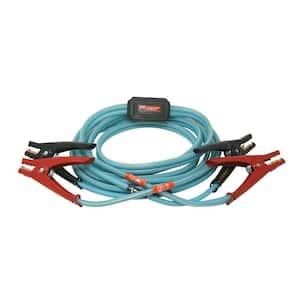 16 ft. 6-Gauge 180 Amp Blue Booster Cables