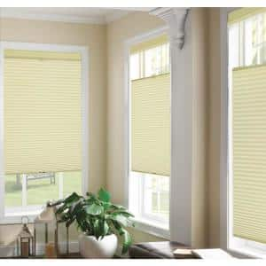 Top Down/Bottom Up Ivory Cordless Cellular Shade - 29 in. W x 64 in. L
