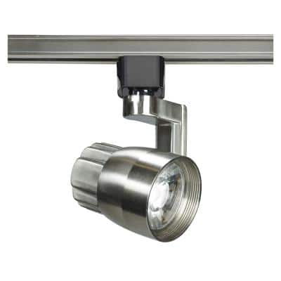 Brushed Nickel Integrated LED Track Lighting Head