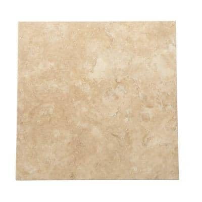 Travertine Durango 12 in. x 12 in. Natural Stone Floor and Wall Tile (10 sq. ft. / case)