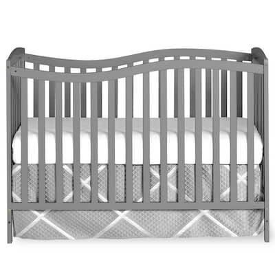 Chelsea Steel Grey 5-in-1 Convertible Crib