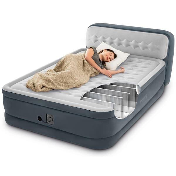 Intex Queen Ultra Plush Deluxe Air, Deluxe Air Bed Queen Size