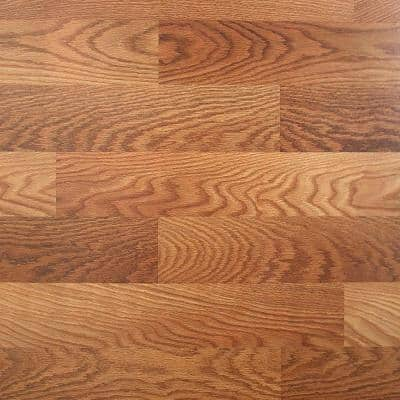 Lansbury Oak 7 mm Thick x 8.03 in. Wide x 47.64 in. Length Laminate Flooring (23.91 sq. ft. / case)