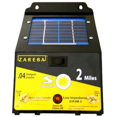 2 Mile Solar Fence Charger