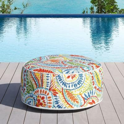Marlowe Multi-Color Sling Outdoor Ottoman
