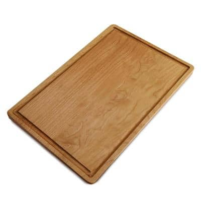 Delice Cherry Cutting Board with Juice Drip Groove