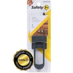 Double Door Decor Slide Lock (2-Pack)