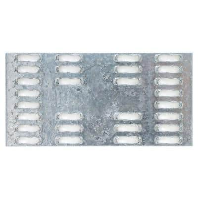 MP 2 in. x 4 in. 20-Gauge Galvanized Mending Plate
