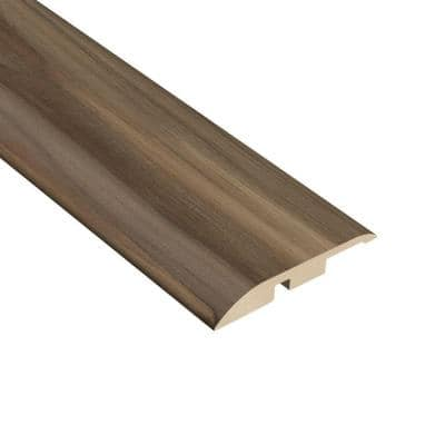 Acacia Nutmeg 1/4 in. Thick x 1-3/4 in. Wide x 94-1/2 in. Length Vinyl Multi-Purpose Reducer Molding