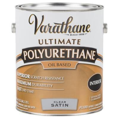1 Gal. Clear Satin Oil-Based Interior Polyurethane