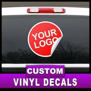 12 in. x 18 in. Custom Adhesive Vinyl Decal