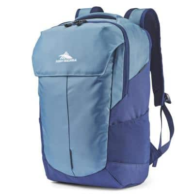 Access Pro Graphite Blue Backpack with 17 in. Padded Laptop Sleeve