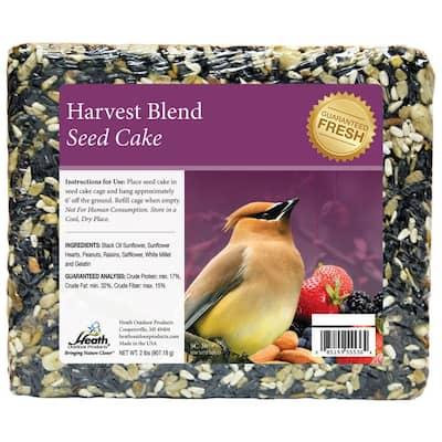 Harvest Blend Seed Cake - 2 lbs. - 8-Pack