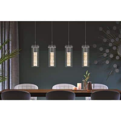 Essence 27-Watt Chrome Integrated LED Pendant