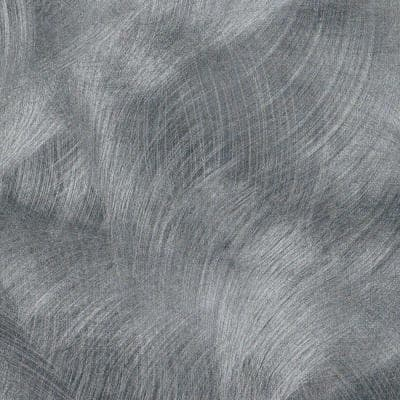 2 in. x 3 in. Laminate Sheet Sample in Pewter Brush with Standard Matte Finish