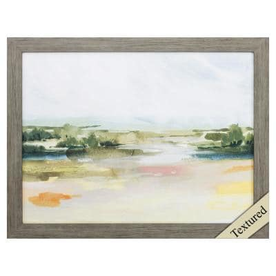 Victoria Wood toned Gallery Nature Frame Wall Art 21 in. x 27 in.