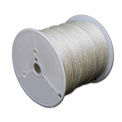 3/8 in. x 500 ft. Solid Braid Polyester Rope