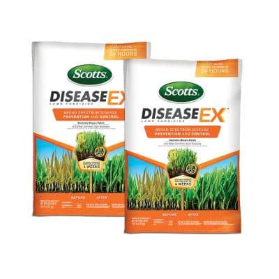 10 lb. 5,000 sq. ft. Disease Ex Fungicide for Lawns (2-Pack)