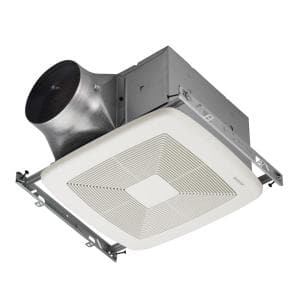 ULTRA GREEN ZB Series 80 CFM Multi-Speed Ceiling Bathroom Exhaust Fan, ENERGY STAR*